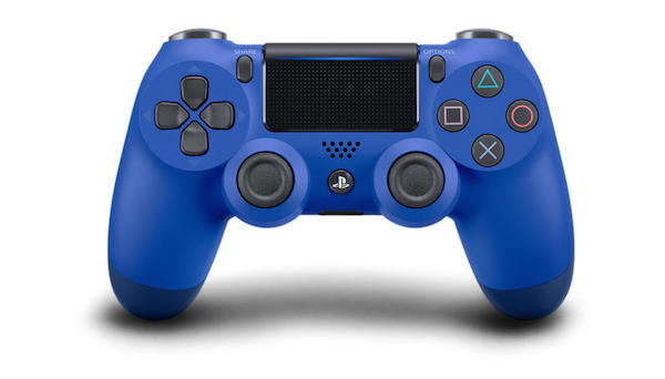 Blauwe PS4 Pro Controller
