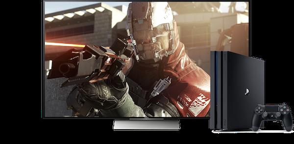 Playstation 4 Pro aanbevolen
