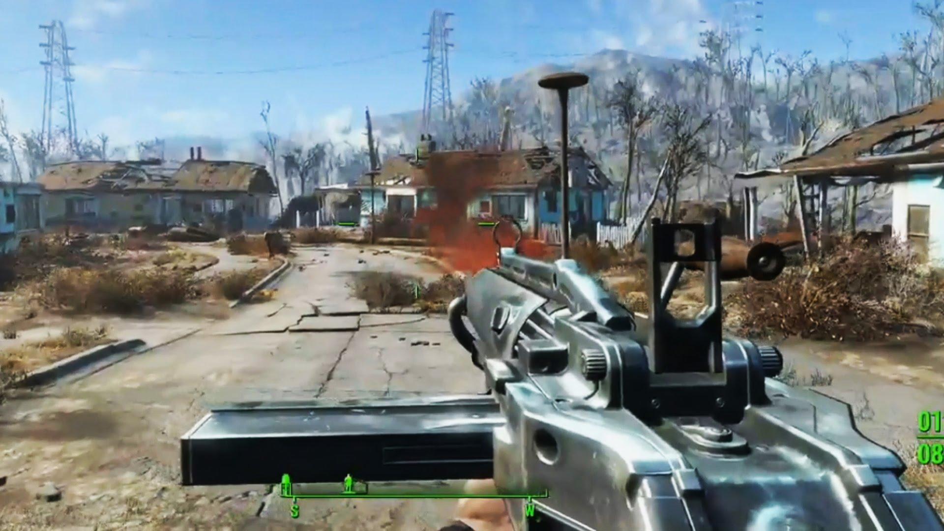 PS4 Pro ondersteuning voor Fallout 4